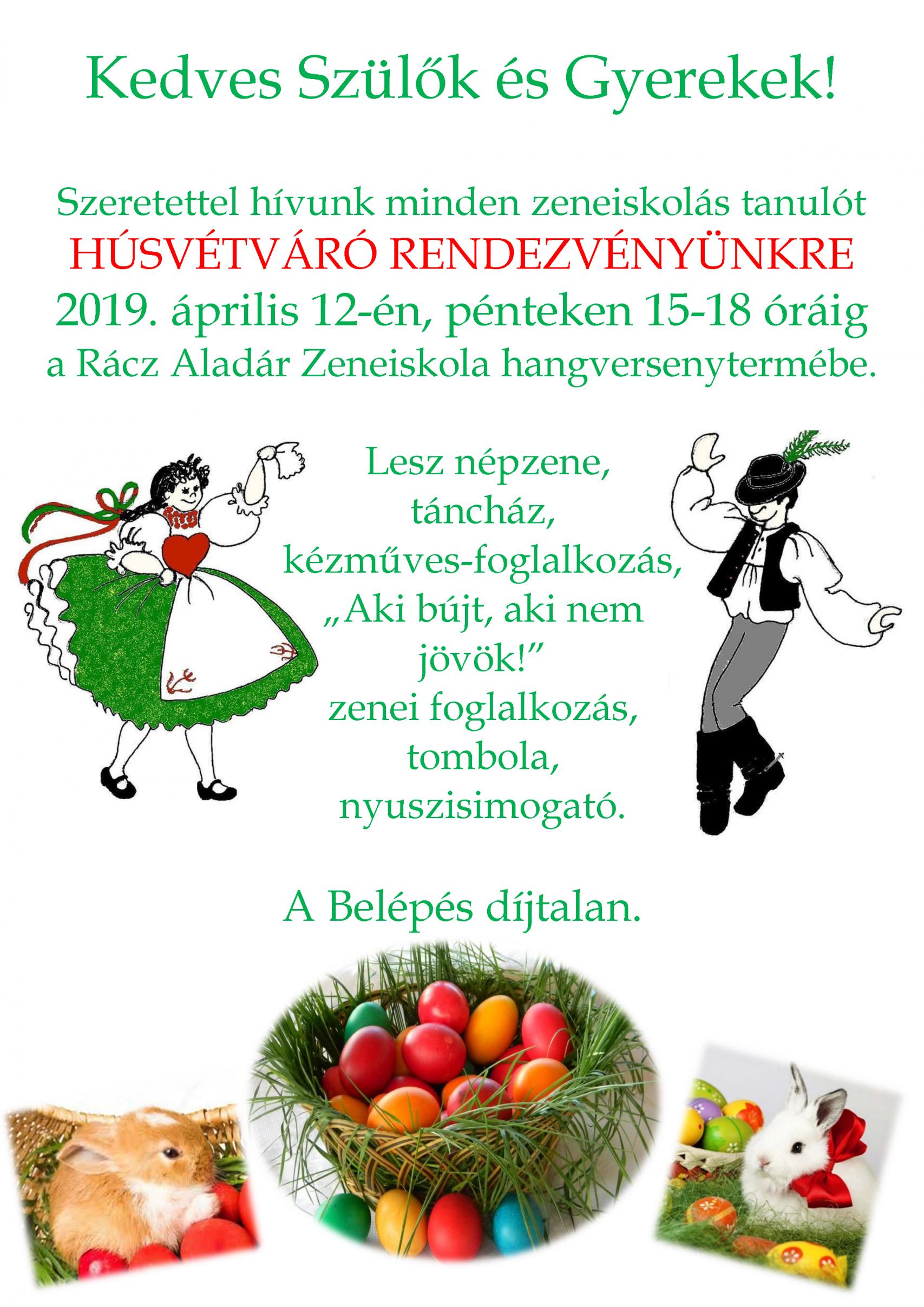 Hústvéti meghívó